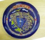 Click here to enlarge image and see more about item AAA716: World Trade Center Souvenir Plate