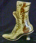 Click to view larger image of Brass Boot - Victorian Style (Image1)