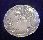 Click to view larger image of St. Catherine's Court - Silver-toned Plate (Image2)
