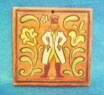 Click here to enlarge image and see more about item AAA826: Brayton Laguna Pottery Trivet - Signed