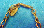 Click to view larger image of Vintage Piddle Links Charm Necklace (Image5)