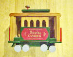 See's Candies Wood Railway Car/Trolley