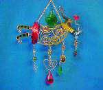 Click to view larger image of Fanciful Fairy Wire & Glass Marbles Ornament (Image2)