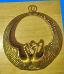 Brass Swans - Art Deco Style Bowl