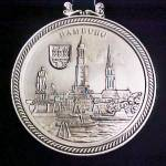 Click to view larger image of Hanover Metal Souvenir Plaque  (Image1)