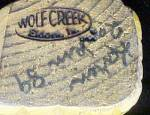 Click to view larger image of Wolf Creek Mermaid - Signed & Dated (Image6)