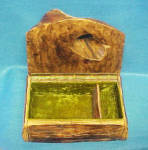 Click to view larger image of Wood Art Box - Tree Hollow Lid (Image2)