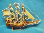 Click here to enlarge image and see more about item AAA916: Sail Ship Model