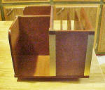 Click to view larger image of Wooden Book Stand - Organizer - Revolving (Image1)