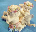 Click to view larger image of Cherubs/Elephant Music Box  (Image2)