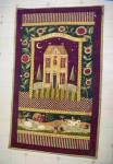 Click to view larger image of Quilted Style Wall Hanging - Amish (Image1)