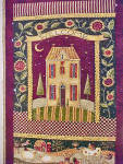 Click to view larger image of Quilted Style Wall Hanging - Amish (Image2)