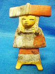 Click to view larger image of pre-Columbian Style Female Figure (Image1)