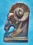 Click here to enlarge image and see more about item AAA972: Ram Metal Bookend