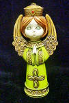 Click to view larger image of Angel Figurine - Vintage (Image1)