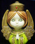 Click to view larger image of Angel Figurine - Vintage (Image3)