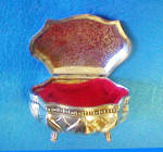 Click to view larger image of Floral Trinket Box - Hinged (Image4)