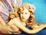 Click to view larger image of Fairy Figurine Wall Art (Image2)