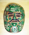 Click here to enlarge image and see more about item AAA982: Mexican Wall Mask - Vintage