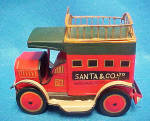 Click to view larger image of Santa & Co. Tin Truck (Image2)