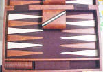 Click to view larger image of Backgammon Travel Set (Image2)