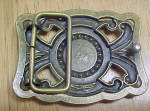 Click to view larger image of Bejeweled Elegant Metal Belt Buckle (Image2)