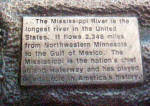 Click to view larger image of Mississippi River Metal Belt Buckle  (Image3)