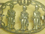 Click to view larger image of India - Palace Guards Metal Belt Buckle (Image2)