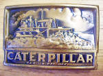 Click here to enlarge image and see more about item BB172: Caterpillar Track-Type Tractor Belt Buckle