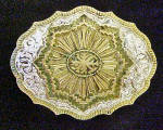 Crumrine Indian Winter Belt Buckle
