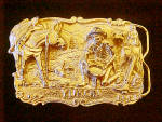 Click to view larger image of Yukon Prospector Belt Buckle - Signed (Image1)