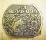 Click to view larger image of Blue Mountain Sports/Challis Idaho Buckle (Image1)