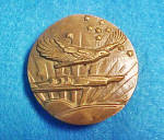 Eagle Belt Buckle - Solid Brass