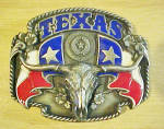 Siskiyou Texas Long Horn Belt Buckle