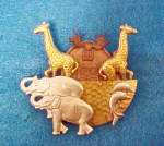 Click to view larger image of Noah's Ark Metal Pin - Vintage (Image1)