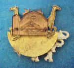 Click to view larger image of Noah's Ark Metal Pin - Vintage (Image2)