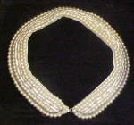 Click to view larger image of Glass Pearl Sweater Collar (Image1)
