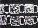 Click to view larger image of Silver-Toned Square/Ring Linked Metal Belt (Image2)