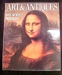 Click here to enlarge image and see more about item M105: Art & Antiques Magazine - January 1987