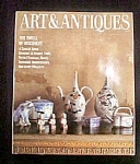 Click here to enlarge image and see more about item M106: Art & Antiques Magazine - November 1986