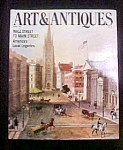Click here to enlarge image and see more about item M107: Art & Antiques Magazine - April 1987