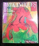 Click here to enlarge image and see more about item M114: Art & Antiques Magazine - March 1988