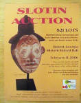 Click here to enlarge image and see more about item M215: Slotin Auction - February 2006