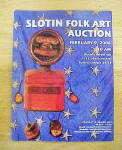 Click here to enlarge image and see more about item MM249: Slotin Folk Art Auction Catalog