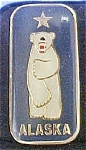 Click here to enlarge image and see more about item P121: Alaskan Polar Bear Collectible Pin