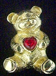 Teddy Bear Lapel Pin - Avon