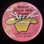 Gallatin, Montana County Fair Pin Back