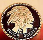 Click to view larger image of South Dakota Indian Collector's Pin (Image1)