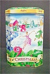 Click here to enlarge image and see more about item T533: Andes 1997 Holiday Tin - 12 Days of Christmas