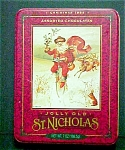 Click here to enlarge image and see more about item T537: Old World Style St. Nicholas Tin
